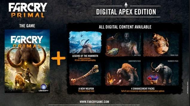 خرید سی دی کی Far Cry Primal Digital Apex Edition اسکرین شات 5