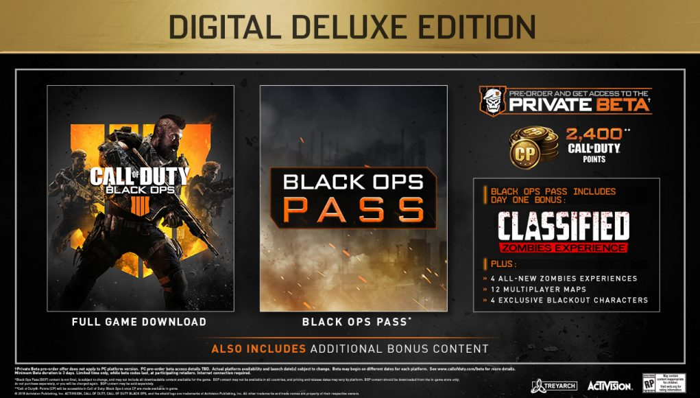 4 Call of Duty Black Ops اسکرین شات Digital Deluxe Edition