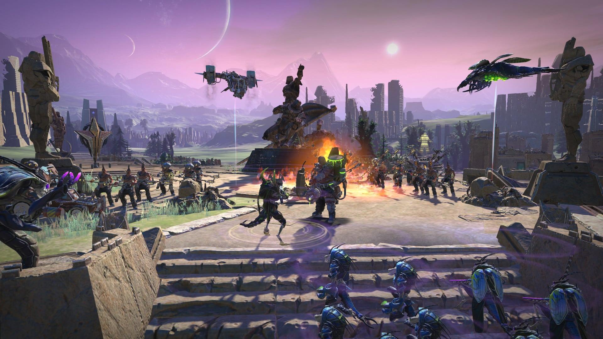 خرید استیم گیفت Age of Wonders: Planetfall اسکرین شات 1