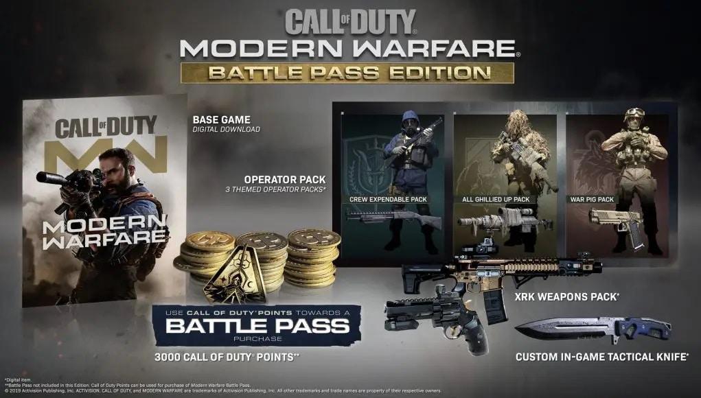 خرید سی دی کی Call of Duty: Modern Warfare اسکرین شات Battle Pass Edition