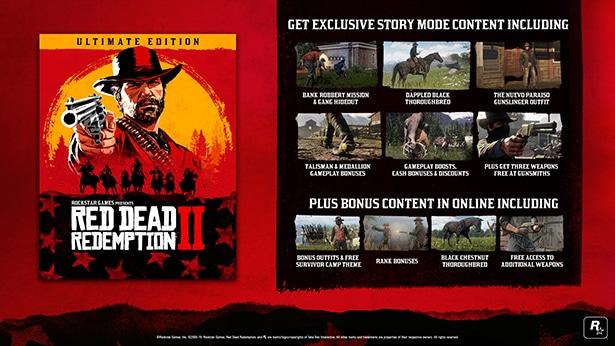 خرید سی دی کی Red Dead Redemption 2 اسکرین شات Ultimate Edition