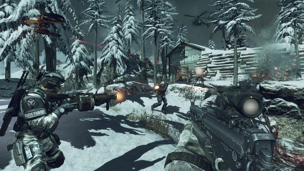 خرید استیم گیفت Call of Duty Ghosts اسکرین شات 3