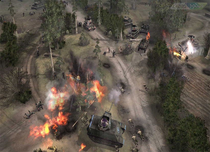 خرید استیم گیفت Company of Heroes 2 اسکرین شات 2