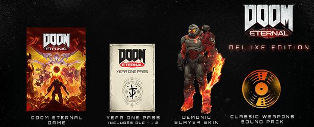 خرید استیم گیفت Doom Eternal اسکرین شات Digital Deluxe Edition