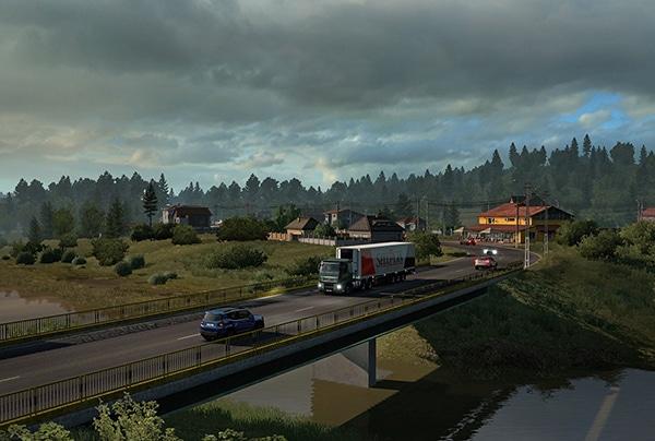 خرید استیم گیفت Euro Truck Simulator 2 اسکرین شات 3