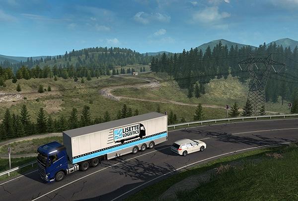 خرید استیم گیفت Euro Truck Simulator 2 اسکرین شات 2