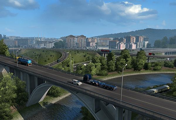 خرید استیم گیفت Euro Truck Simulator 2 اسکرین شات 1