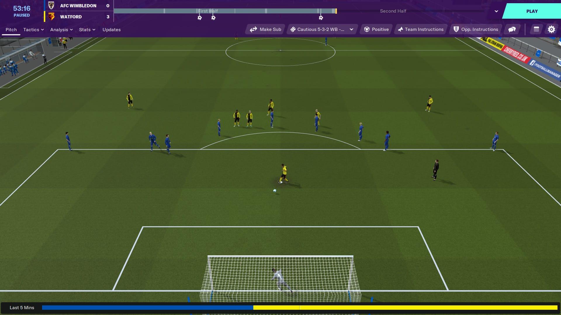 خرید استیم گیفت Football Manager 2020 اسکرین شات 1