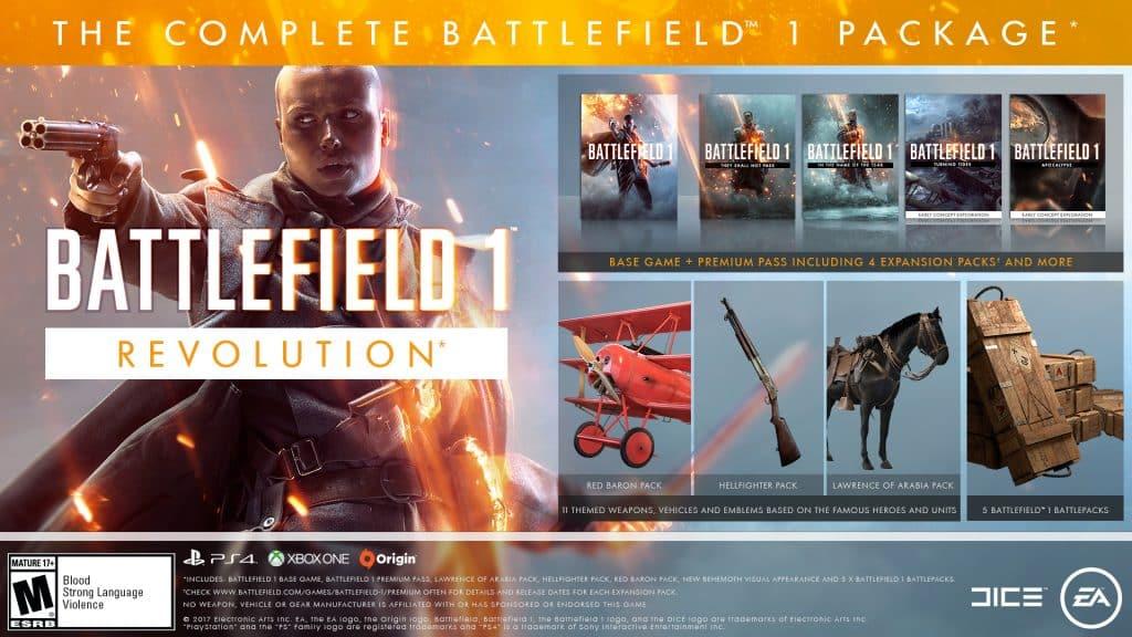 سی دی کی Battlefield 1 Revolution