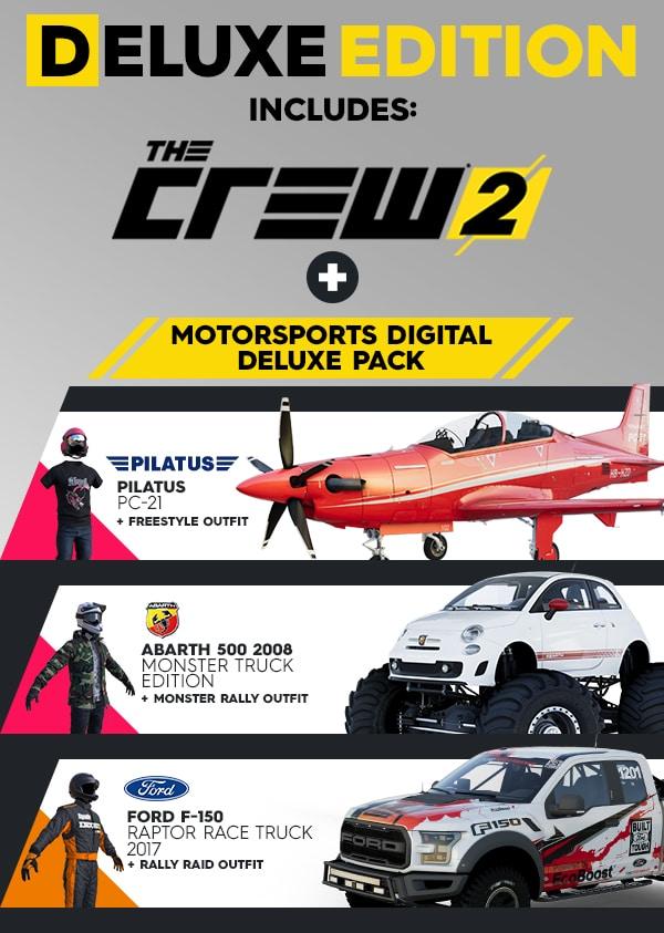خرید استیم گیفت The Crew 2 Deluxe Edition