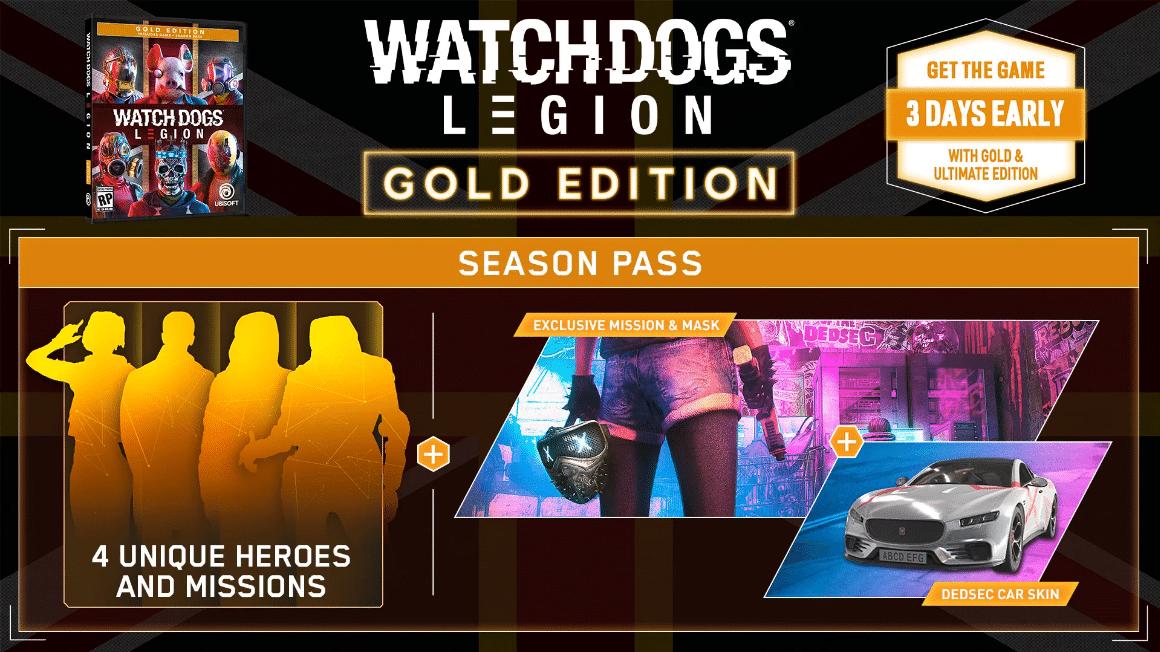 خرید سی دی کی Watch Dogs Legion UPlay Gold Edition اسکرین شات