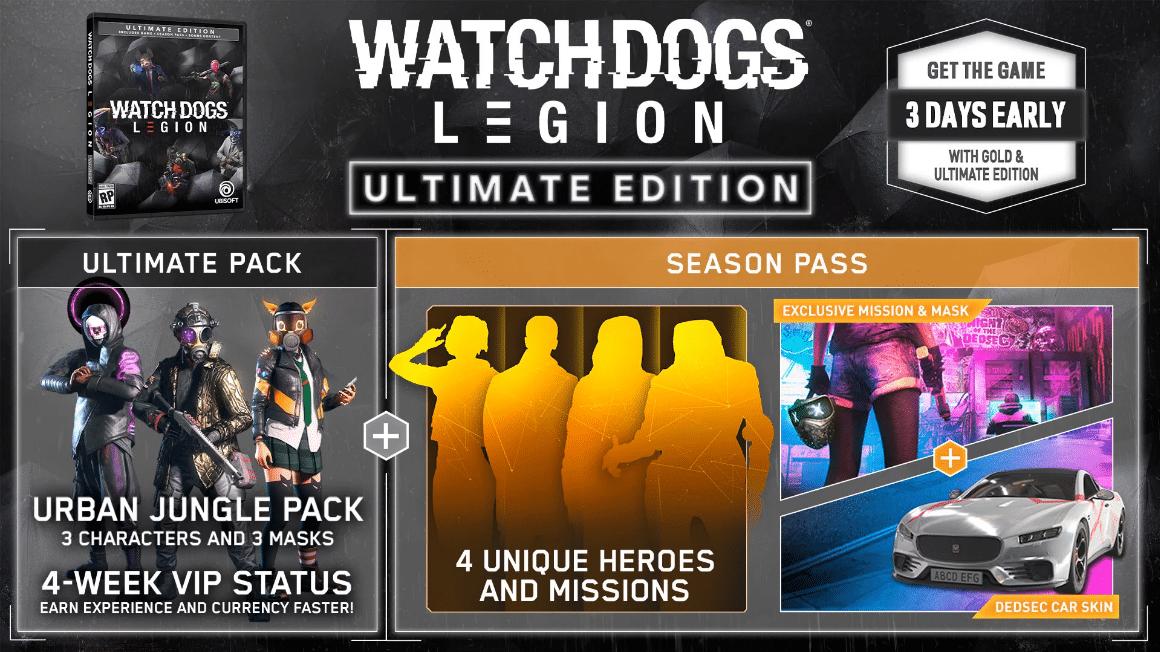 خرید سی دی کی Watch Dogs Legion UPlay Ultimate Edition اسکرین شات