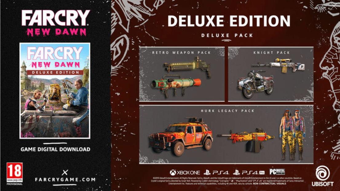 خرید سی دی کی Far Cry New Dawn Deluxe Edition