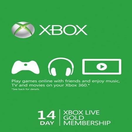 خرید xbox live 14 days