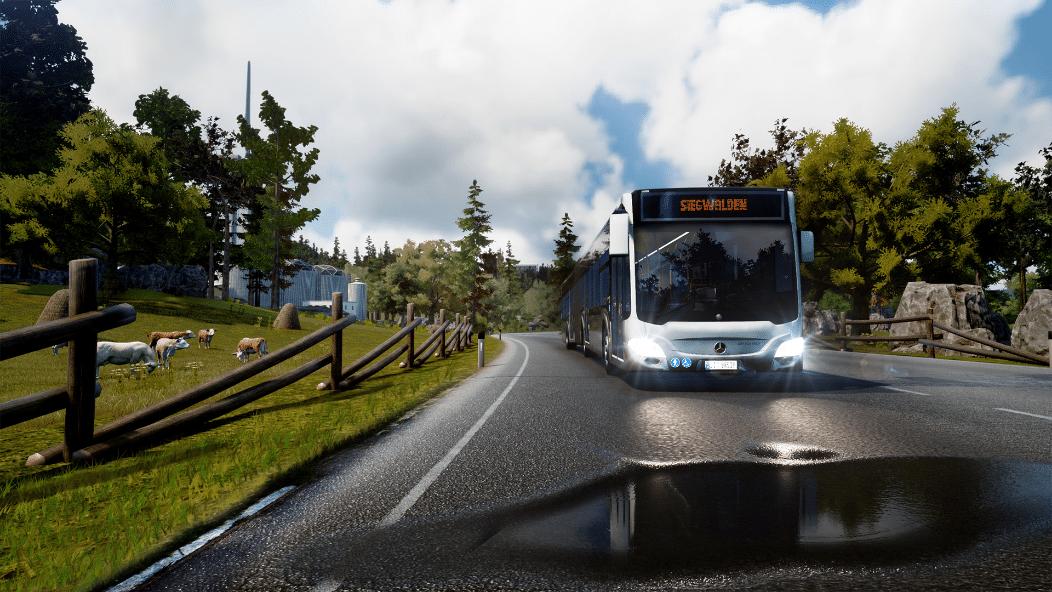 خرید استیم گیفت Bus Simulator 18 اسکرین شات 2