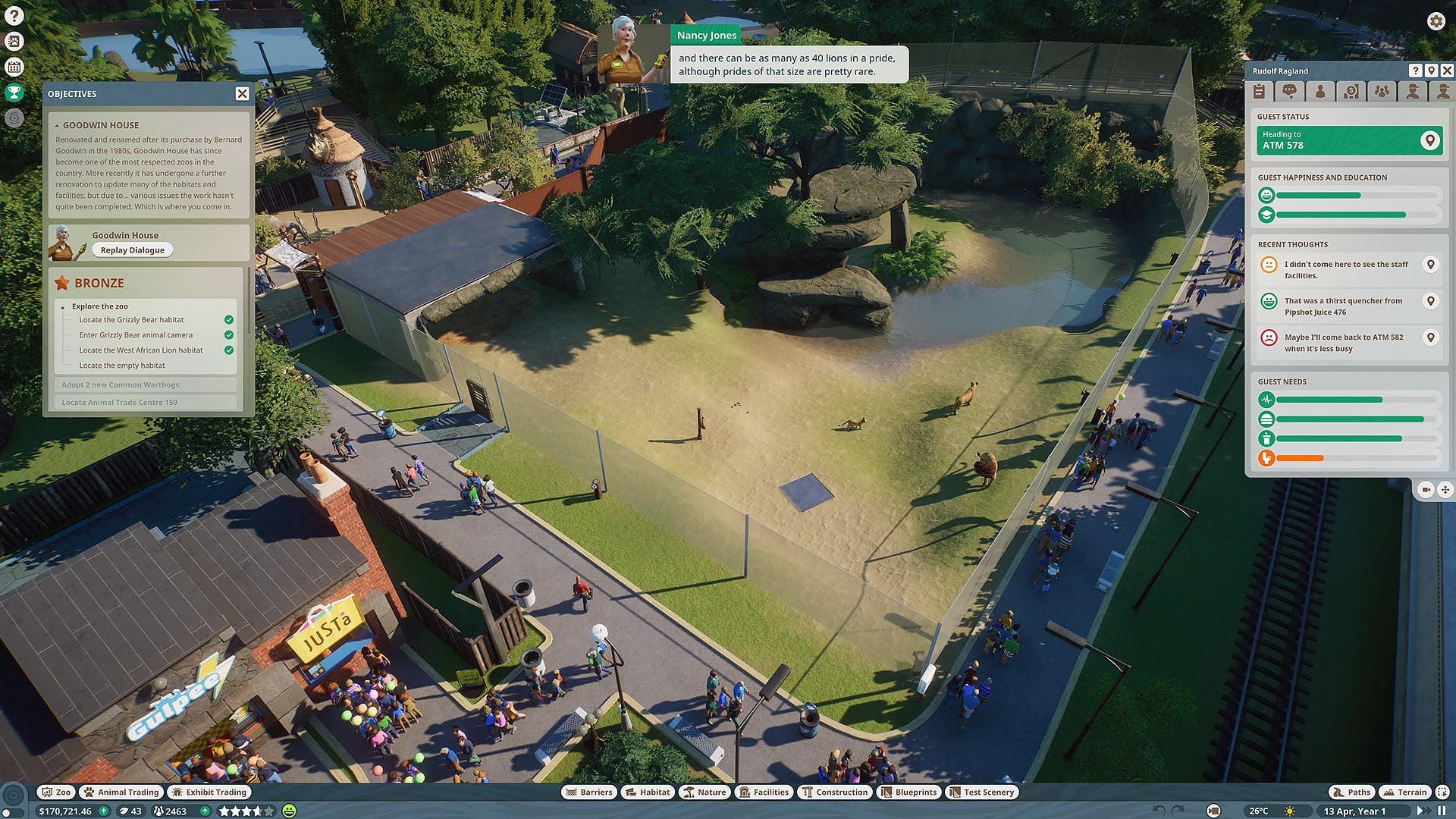 خرید استیم گیفت Planet Zoo اسکرین شات 1