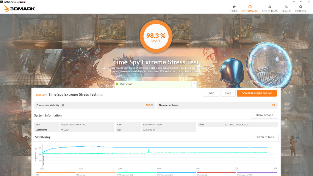 خرید بازی واقعیت مجازی استیم 3DMark اسکرین شات 4