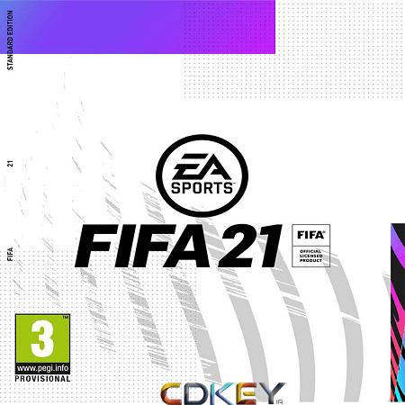 خرید استیم گیفت FIFA 21