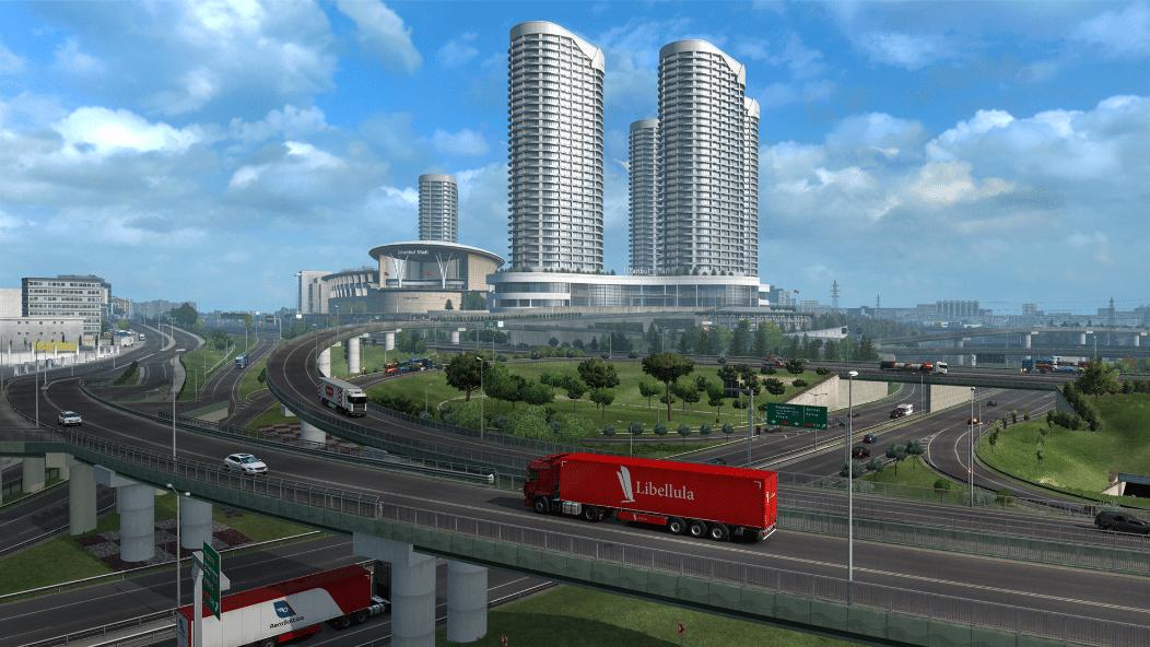 خرید بازی Euro Truck Simulator 2 - Road to the Black Sea استیم گیفت اسکرین شات 4