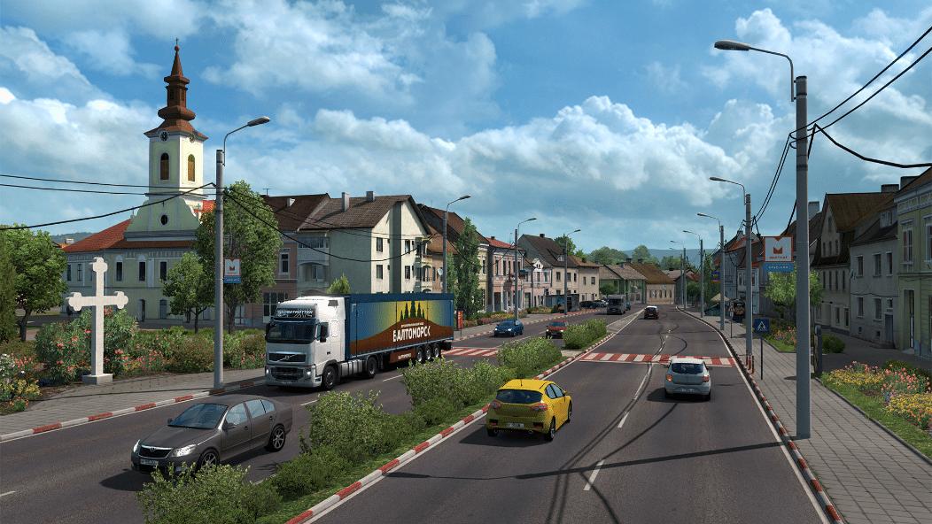 خرید بازی Euro Truck Simulator 2 - Road to the Black Sea استیم گیفت اسکرین شات 3