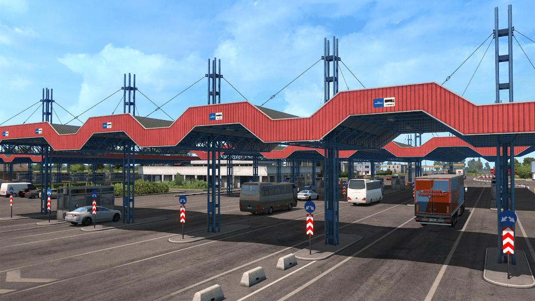 خرید بازی Euro Truck Simulator 2 - Road to the Black Sea استیم گیفت اسکرین شات 2