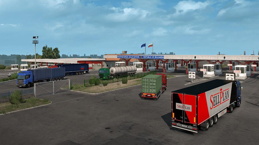 خرید بازی Euro Truck Simulator 2 - Road to the Black Sea استیم گیفت اسکرین شات 1