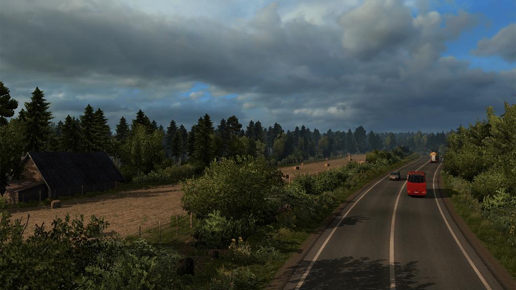 خرید Euro Truck Simulator 2 - Beyond the Baltic Sea استیم گیفت اسکرین شات 4