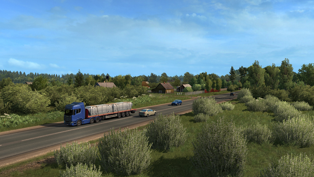 خرید Euro Truck Simulator 2 - Beyond the Baltic Sea استیم گیفت اسکرین شات 3