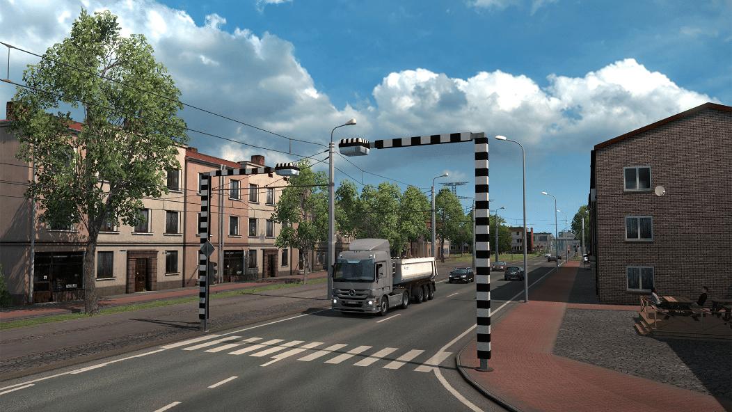 خرید Euro Truck Simulator 2 - Beyond the Baltic Sea استیم گیفت اسکرین شات 2