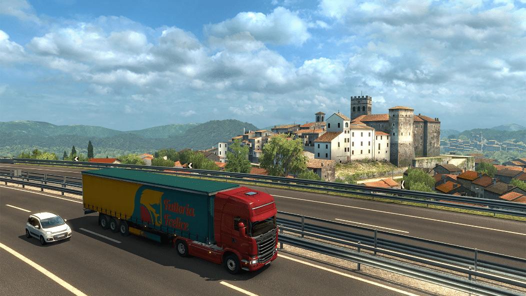 خرید بازی Euro Truck Simulator 2 - Italia استیم گیفت اسکرین شات 5