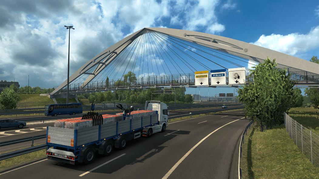 خرید بازی Euro Truck Simulator 2 - Italia استیم گیفت اسکرین شات 3