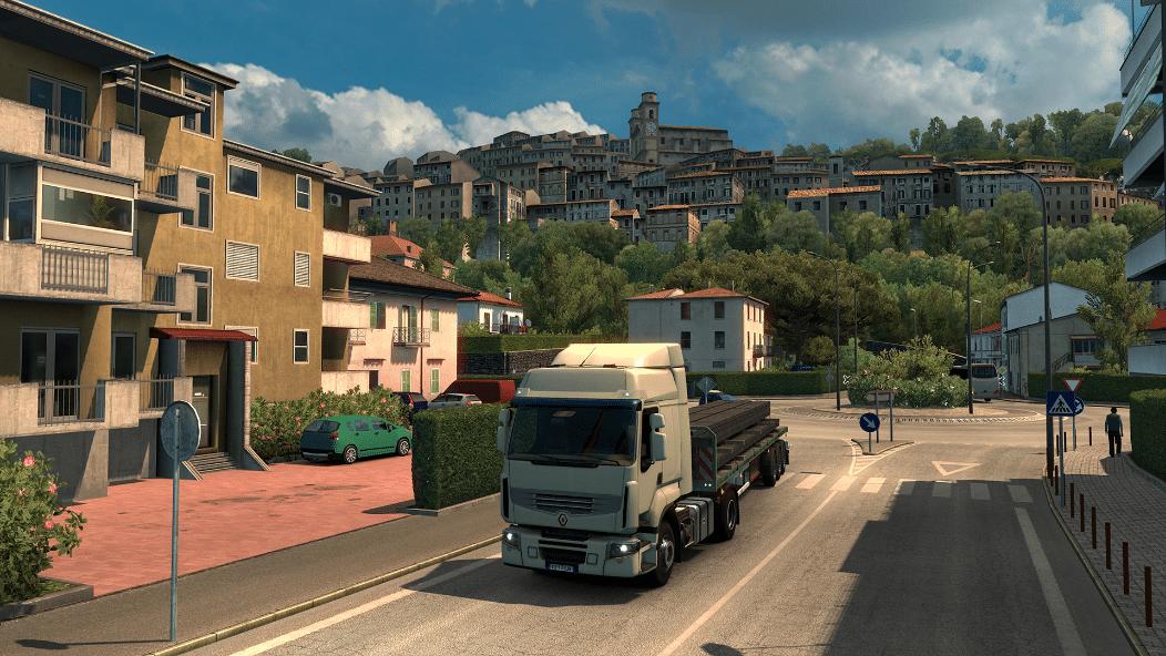 خرید بازی Euro Truck Simulator 2 - Italia استیم گیفت اسکرین شات 2