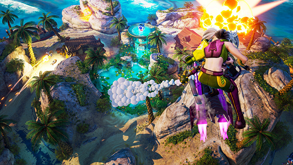 خرید بازی Rocket Arena سی دی کی اسکرین شات 2